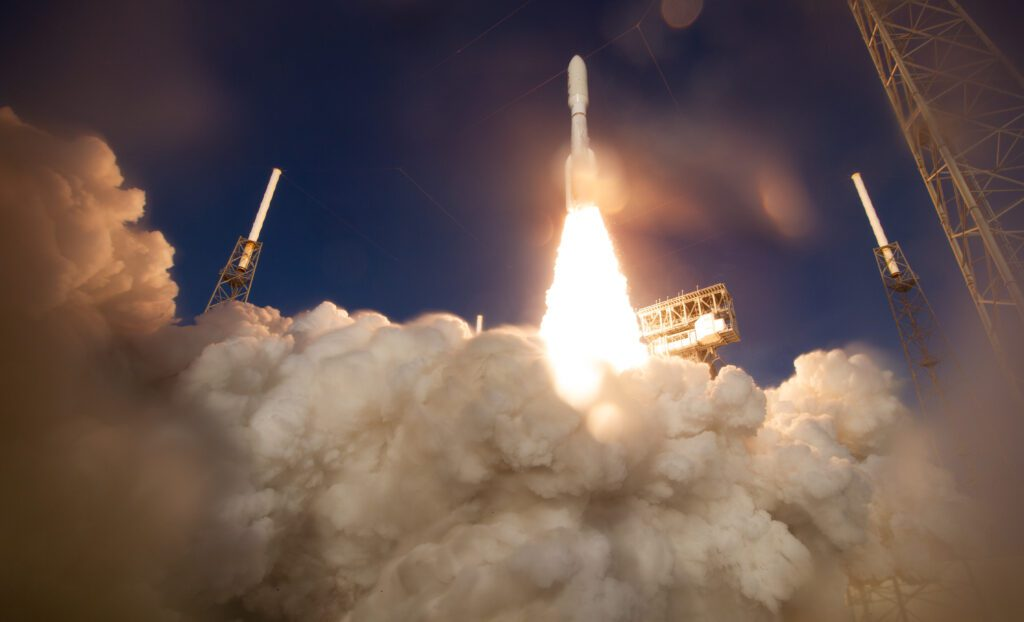 Launch of Perseverance rover on Atlas V rocket from Cape Canaveral